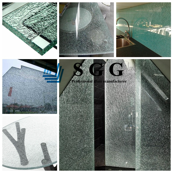 ice cracked glass applications