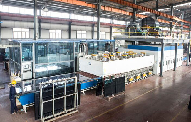 glass production line