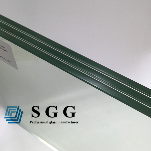 24mm clear laminated glass