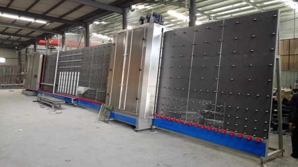 Low-E glass China factory building glass manufacturers production line