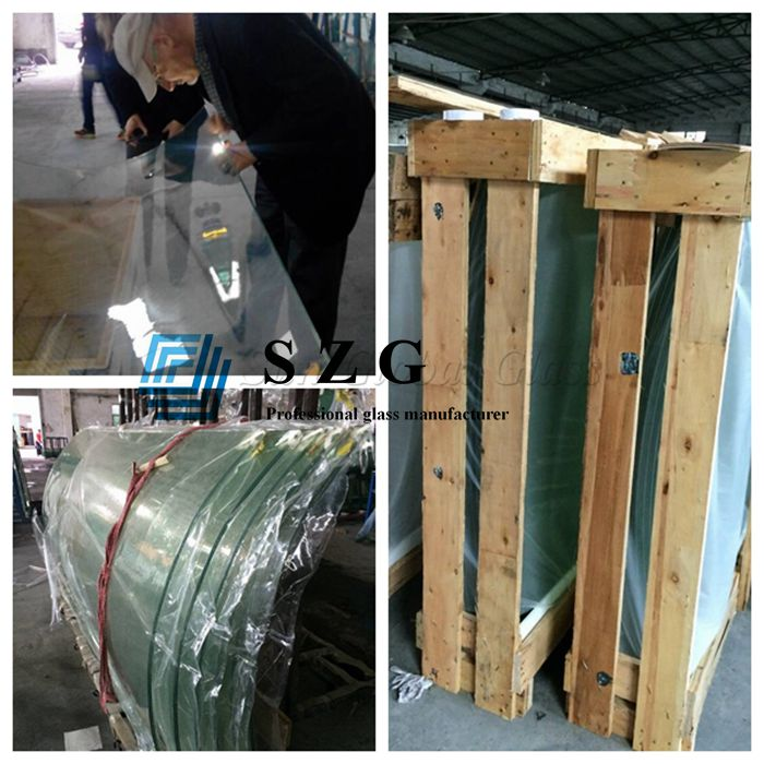 tempered curved laminated glass