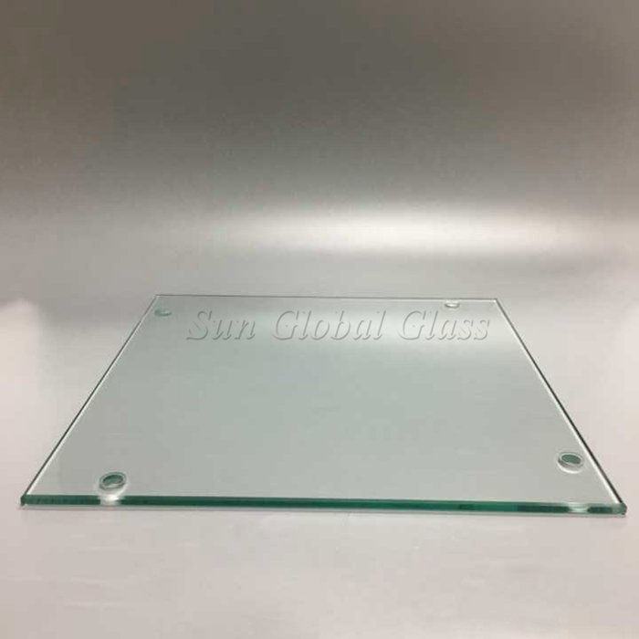 6mm half tempered glass