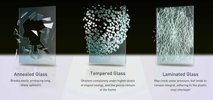 tempered glass vs laminated glass