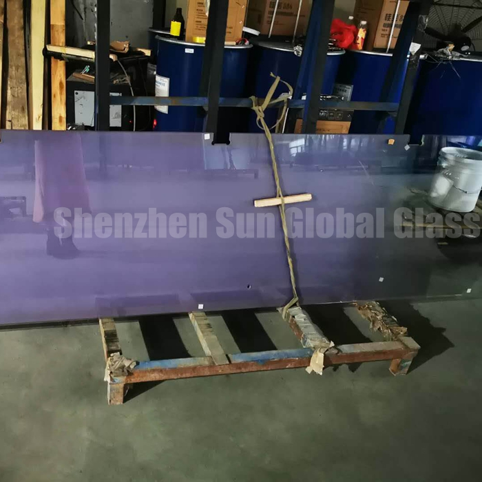 gradient glass, 1/2 inch low iron curved glass, curved glass, decorative glass, 66.4 gradient glass, bent glass, laminated glass, Verbundglas, curved printed glass, gradient toughened glass, gradient laminated glass
