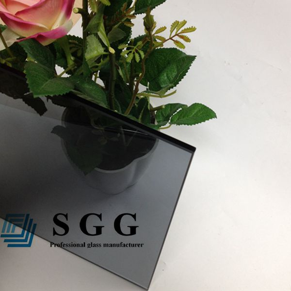 6mm Euro grey toughened glass prices, high quality 6mm Euro grey tempered glass panels, Euro gray toughened glass 6mm