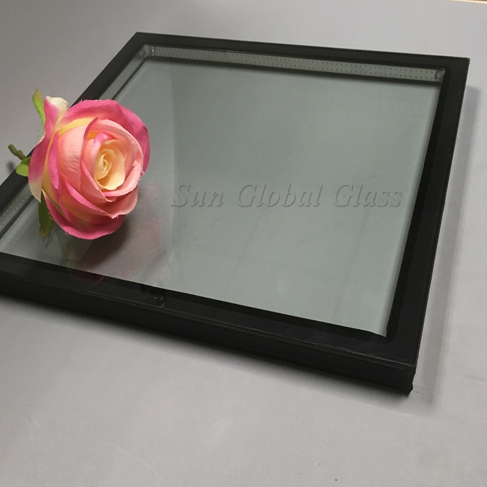 5mm+6A+5mm tempered insulated glass, 16mm toughened insulating glass, 5mm+6mm gap+5mm ESG IGU