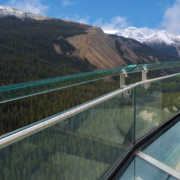 frameless SGP glass balustrade