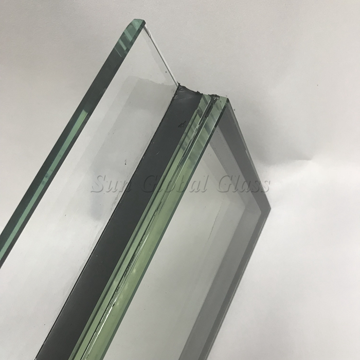 HST SGP tempered laminated double glazing glass