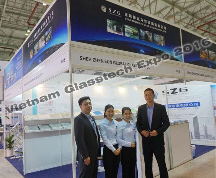 Vietnam Glasstech expo in 2016