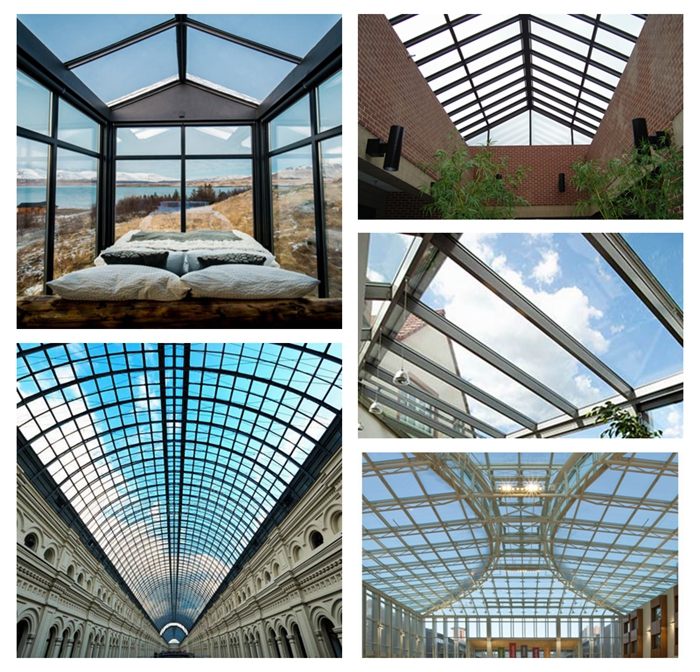 Tempered laminated glass, ultra clear laminated glass, double glazing, glass for roof, 10+1.52+10 extra clear laminated glass, low iron toughened glass, supper white laminated glass