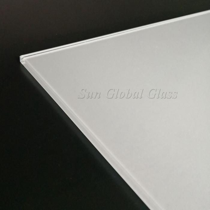 8mm silk screen starphire glass