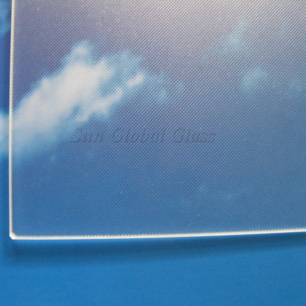 3.2mm Low Iron Mistlite tempered solar glass