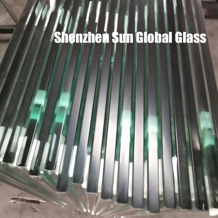 Toughened glass 10mm for patio roofs