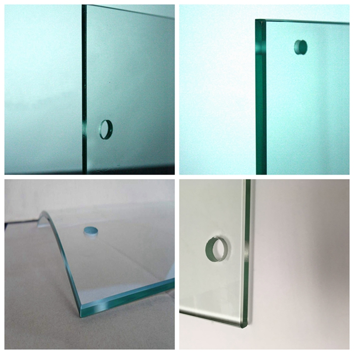 Glass holes