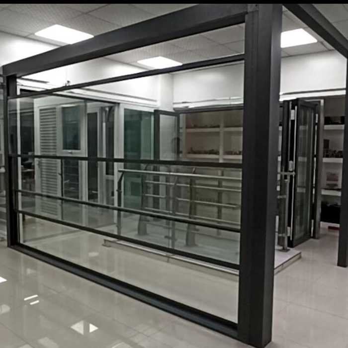 Automatic Retractable Sliding insulated Glass Roof Systems