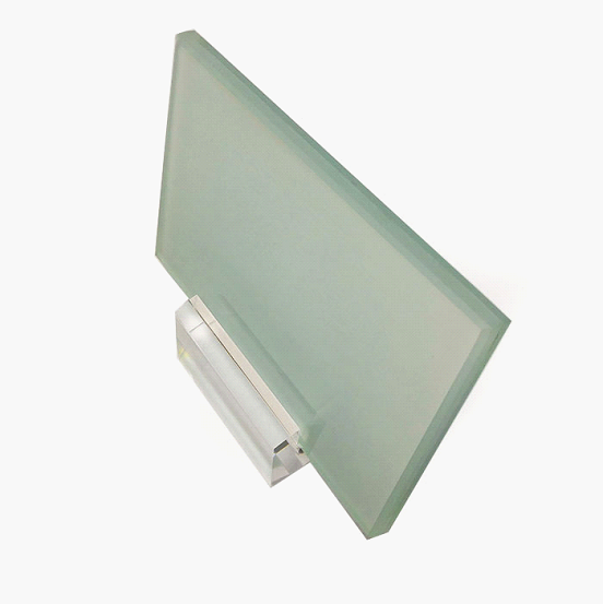 SZG 11.14mm frosted laminated glass