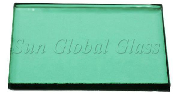 6mm dark green float glass prices