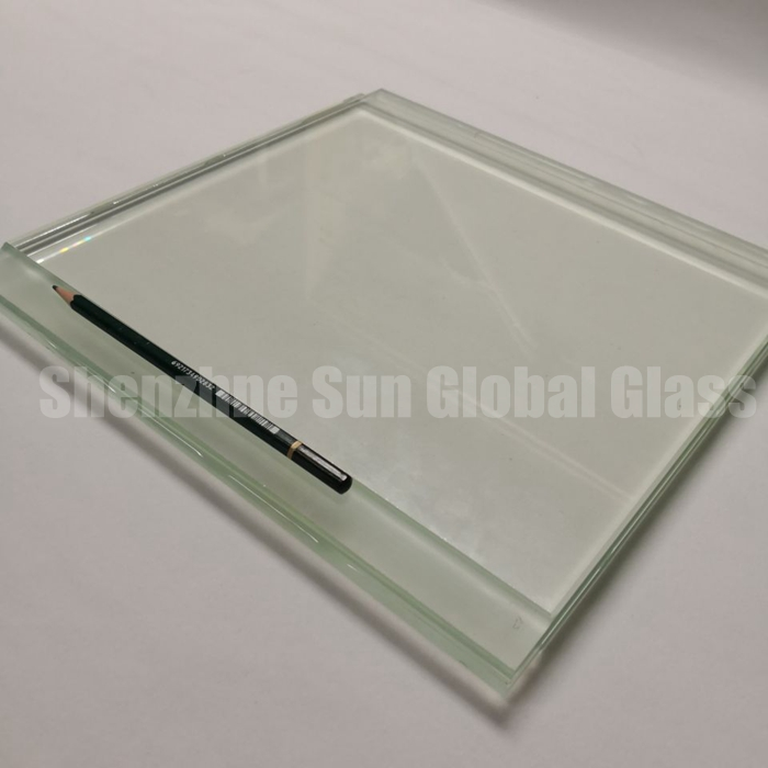 10+10 low iron laminated glass, 1010.4 tempered laminated glass, Vidrio laminado, ultra clear ESG VSG, 21.52mm laminated glass price, China glass factory, Starphire laminated glass