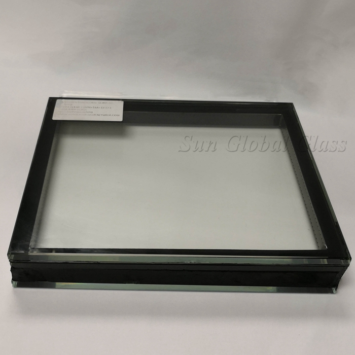 24.52mm double glazed glass, 24.52mm toughened laminated DGU, clear tempered laminated insulated glass, sound proof insulated glass, double glazing