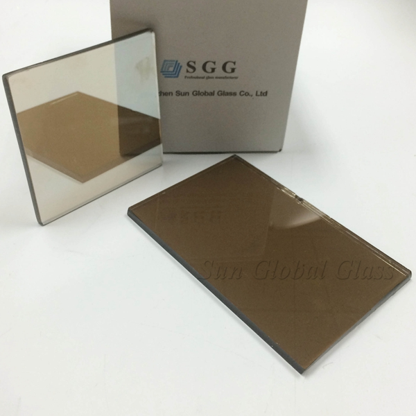 4mm euro bronze reflective glass