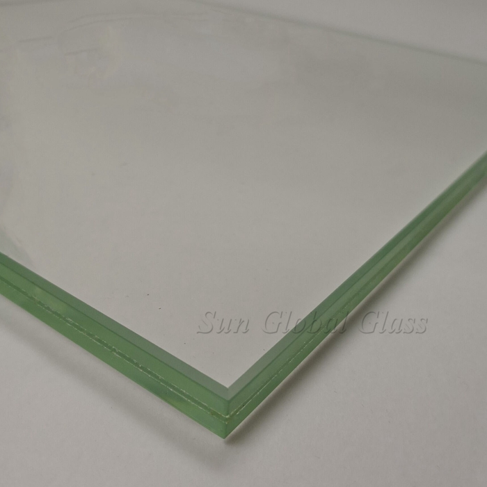 12.89mm SGP laminated safety glass, clear laminated glass, 6mm+6mm SGP toughened laminated glass, hurricane proof glass, SGP sentry laminated glass, 6+6 sandwich glass