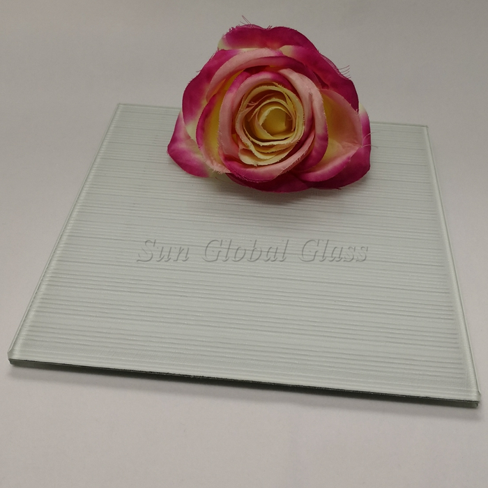 cloth fabric EVA laminated glass