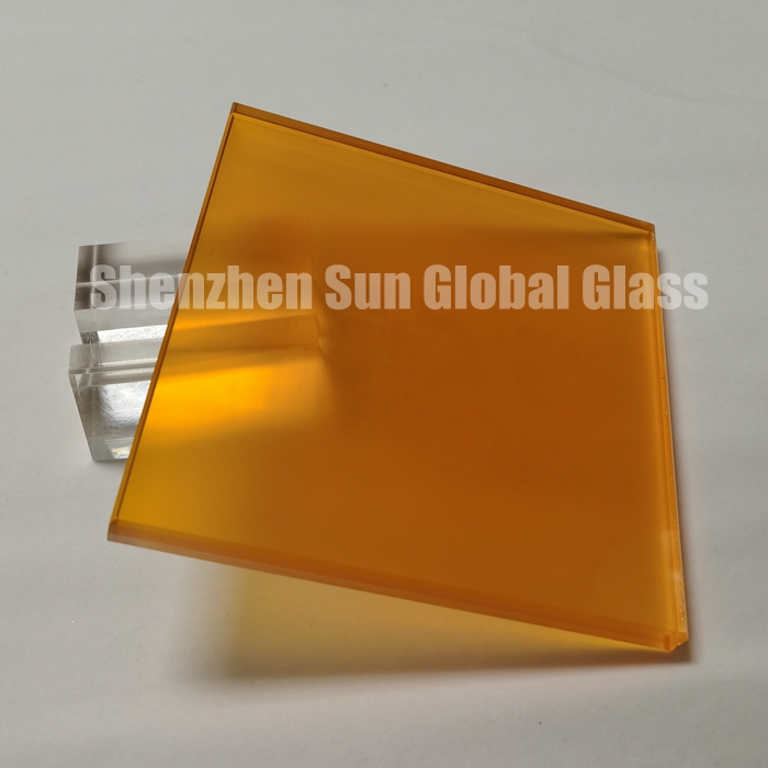 color acid etched glass, SGCC certified glass factory, decorative glass, laminated glass, vidrio laminado pvb de color, colour laminated glass, colored PVB glass, 1/2 inch color laminated glass, CE certified laminated glass, China glass supplier, vidrio laminado PVB coloreado, color frosted glass