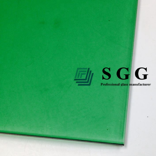 8mm dark green tempered glass