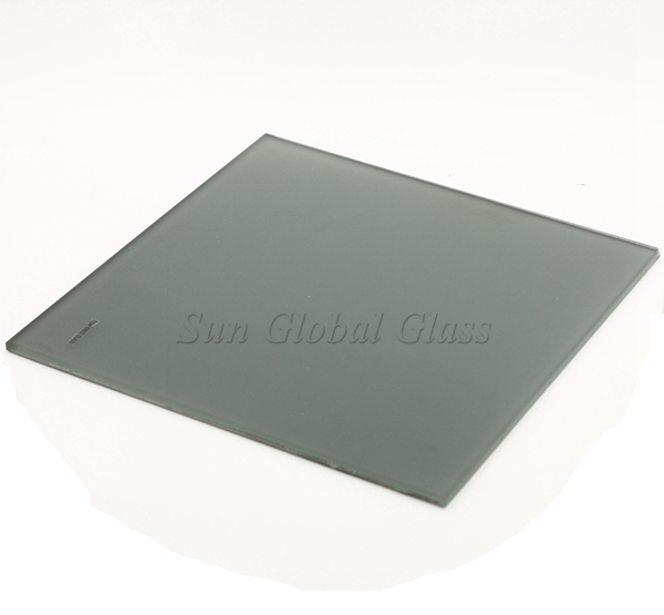 5mm Euro gray acid etched glass
