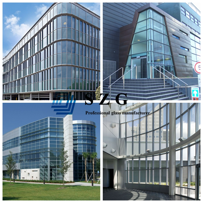 Clear low E glass, blue low E glass, green low E glass, grey low E glass, bronze low E glass