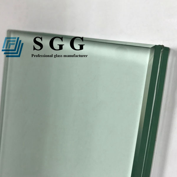 21.14mm clear laminated glass