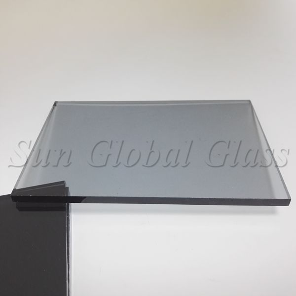 5mm light grey float glass price in China