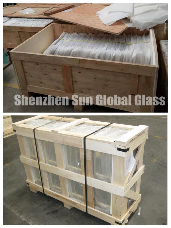tempered printed glass