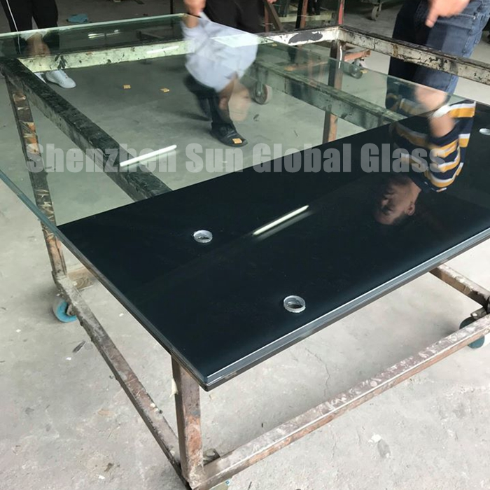 ceramic frit laminated glass, printed double glazed, PVB laminated glass, glass railing system, balcony glass, glass suppliers, railings,  verre de garde-corps, building glass, 88.4 ESG VSG railings