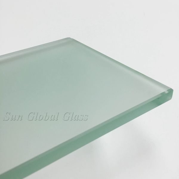 12mm Acid Etched Glass