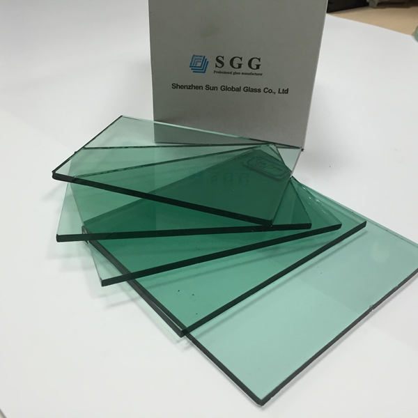 8mm french green tinted glass
