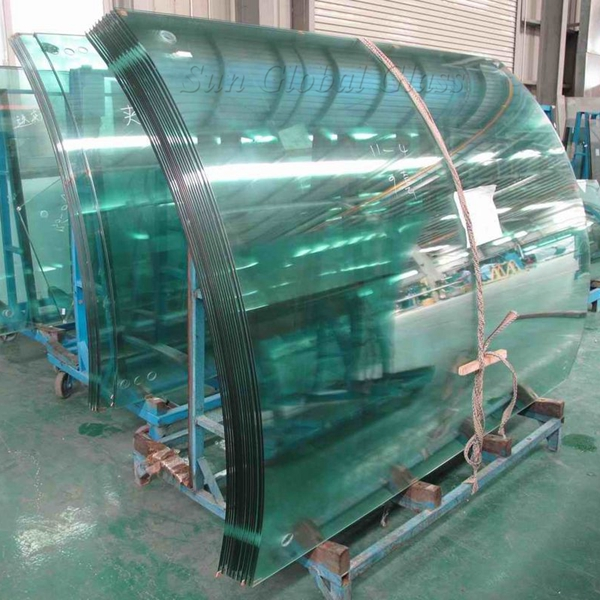 curved toughened glass 12mm