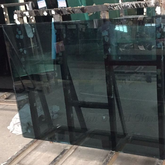6mm crystal gray tempered glass