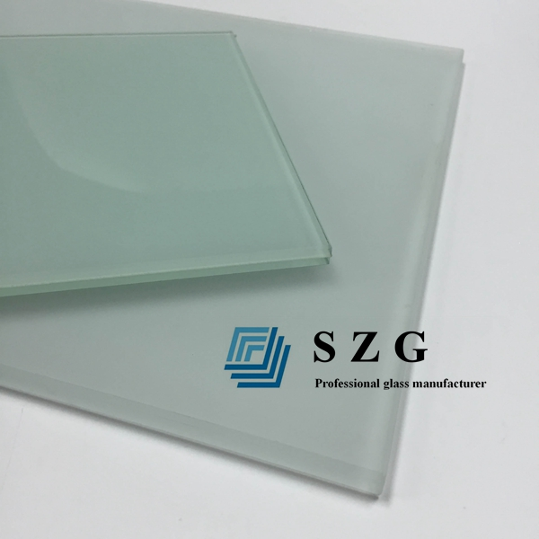 11.52mm frosted laminated glass