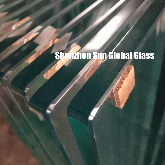 1/2 inch toughened glass for Paddle Tennis Court