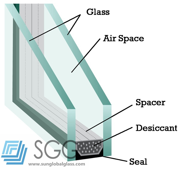 insulated glass composition