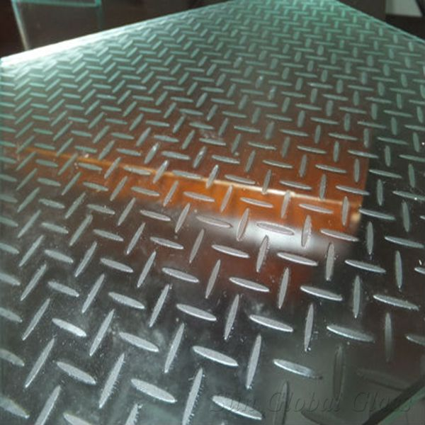42mm anti slip lamianted glass