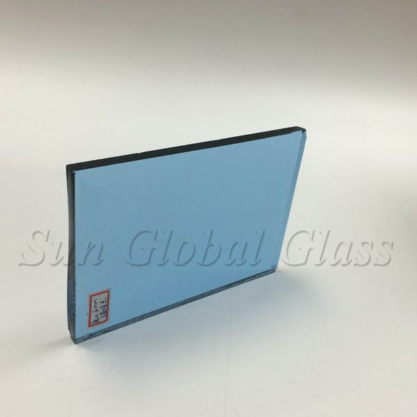 6mm light blue float glass manufacturer in China