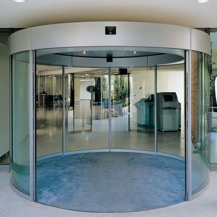 circle design curved glass