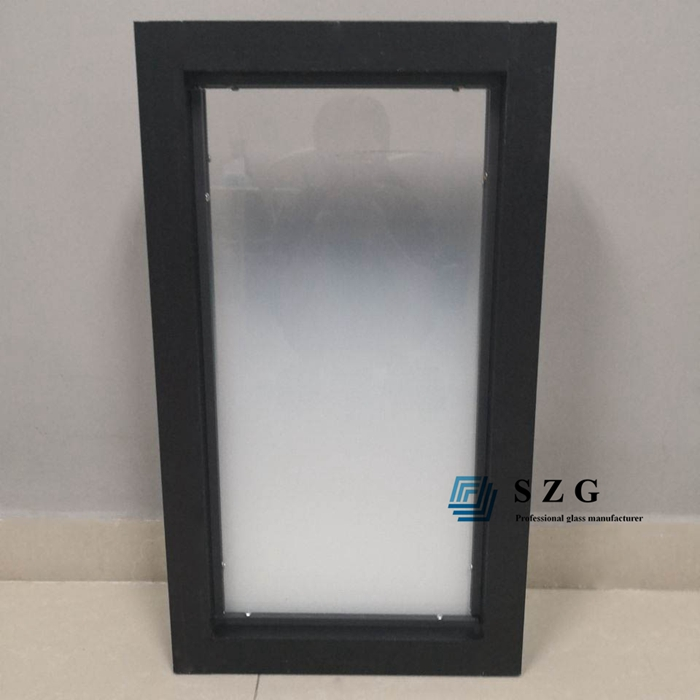 gradient glass partitions, tempered gradient glass, gradient glass office partition, 1/2 inch gradient glass