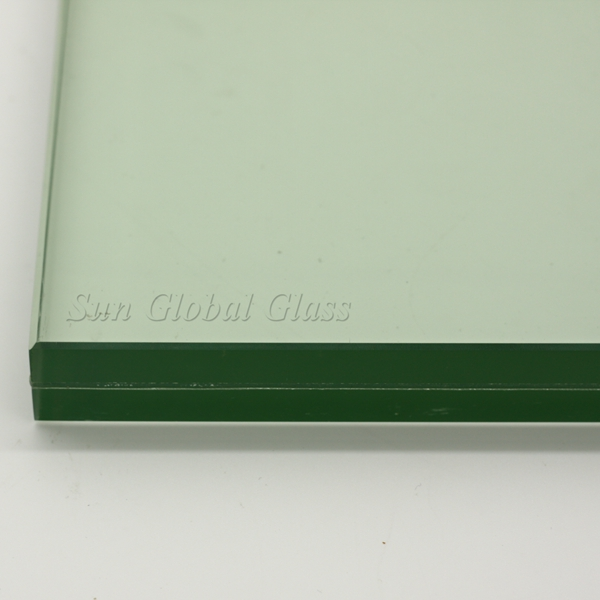 6mm+6mm tempered laminated safety glass