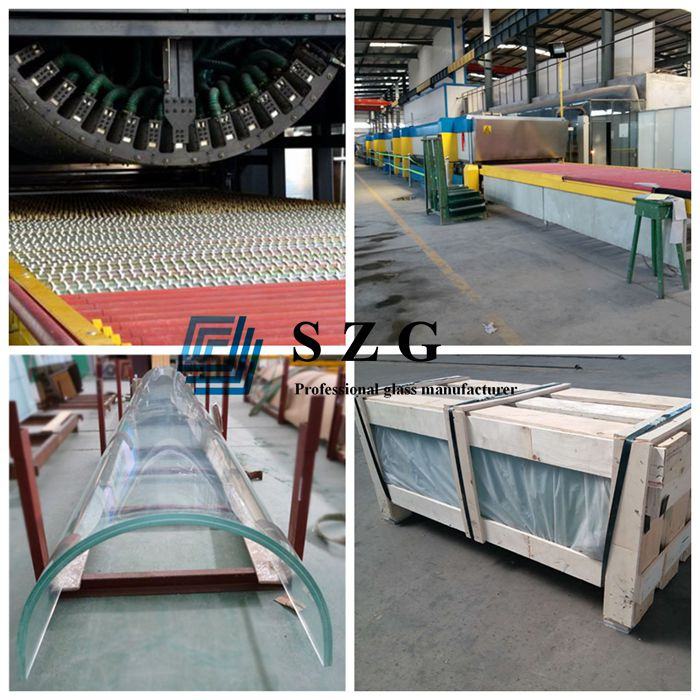 curved laminated glass factory