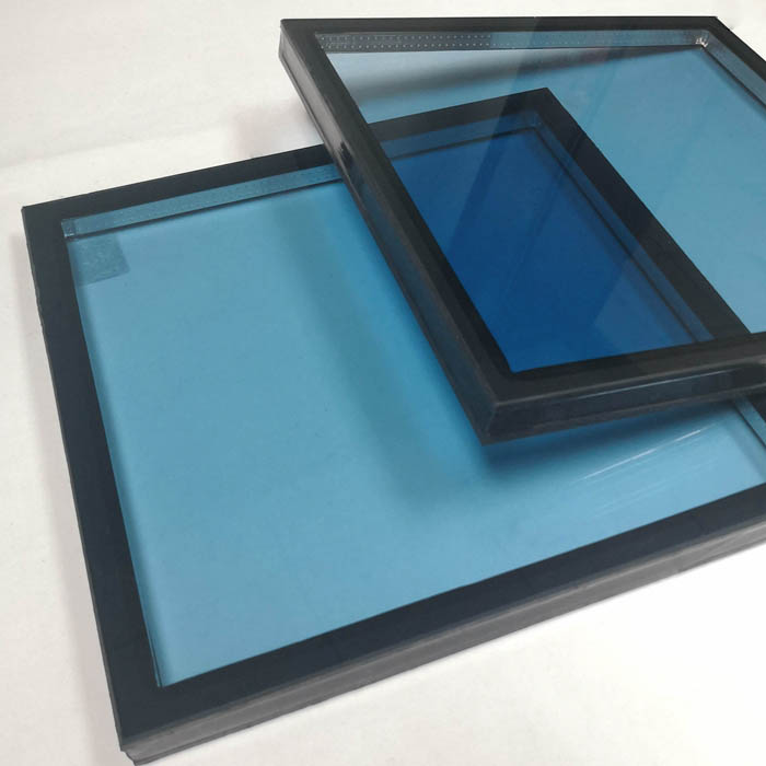 28mm Low E insulated glass, 28mm tempered DGU, 8mm+12A+8mm blue tempered double glazing, toughened double glazed, 28mm double glazed units