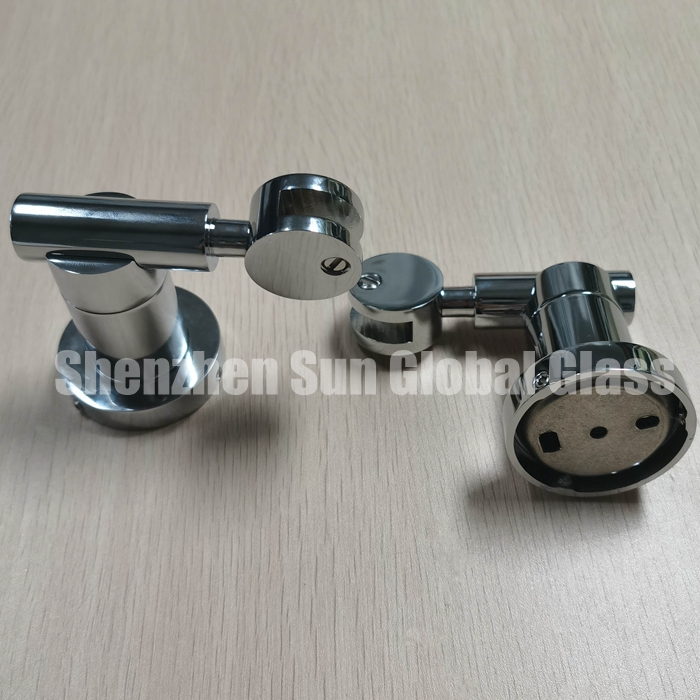 clamps for frameless bathroom mirror