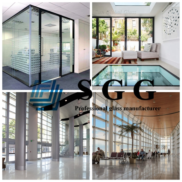 8mm+8mm insulated glass panel, safety glass insulator 8mm+8mm, 8mm+8mm 15A spacer double glazing
